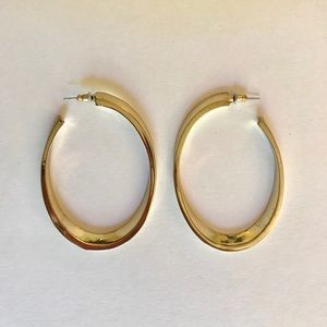 Unique Gold Hoop Earrings by NY&CO